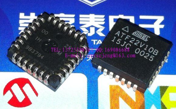 50PCS ATF22V10B-15JC PLCC28