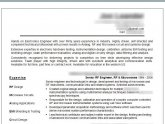 Electronics Engineer Resume Samples